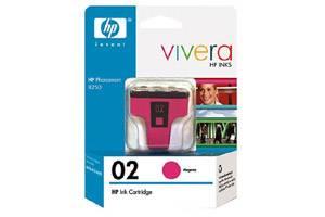 HP C8772WN (#02) Magenta OEM Genuine Ink Cartridge