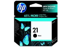 HP C9351AN (#21) Black OEM Genuine Inkjet Cartridge