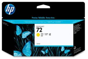 HP C9373A #72 Yellow OEM Genuine High Yield Ink Cartridge
