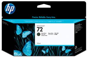 HP C9403A #72 OEM Genuine Matte Black Ink Cartridge