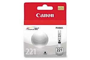 Canon CLI-221 Gray Original Ink Tank for Pixma MP640 MP980 MP990 Printer