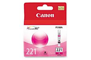 Canon CLI-221 Magenta Original Ink Tank for Pixma iP3600 iP4600 MP640 MP980 MX860