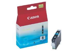 Canon CLI-8C OEM Genuine Cyan Ink Tank Pixma iP4200 iP4500 iP6600D MP600 MP800