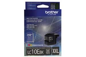 Brother LC10EBK Black OEM Genuine Super High Yield Ink Cartridge