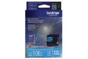 Brother LC10EC Cyan OEM Genuine Super High Yield Ink Cartridge