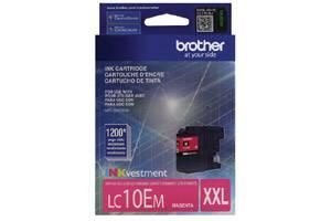 Brother LC10EM Magenta OEM Genuine Super High Yield Ink Cartridge