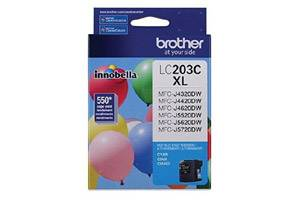 Brother LC203C OEM Genuine Cyan Ink Cartridge for MFC-J4320DW