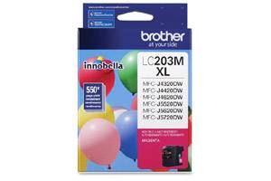 Brother LC203M OEM Genuine Magenta Ink Cartridge for MFC-J4320DW