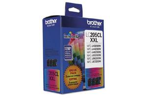 Brother LC2053PKS OEM Genuine C/Y/M 3-Color Ink Cartridge Pack