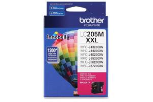 Brother LC205M OEM Genuine Magenta Ink Cartridge MFC-J4320DW J5720DW