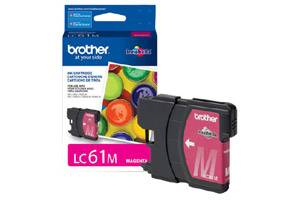 Brother LC61M OEM Genuine Magenta Ink Cartridge for DCP-165 585 6690 MFC-290 5890 790 990