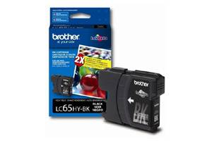 Brother LC65 High Yield Black OEM Genuine Ink Cartridge for DCP-6690 MFC-5890 6490 6890