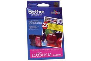 Brother LC65 High Yield Magenta OEM Genuine Ink Cartridge for DCP-6690 MFC-5890 6490 6890