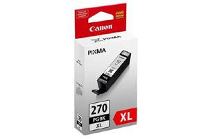 Canon PGI-270XL Pigment Black Original High Yield Ink Cartridge