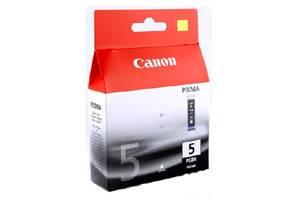 Canon PGI-5 OEM Genuine Black Pigmented Ink Pixma iP4200 iP4300 iP5200 MP600 MP800