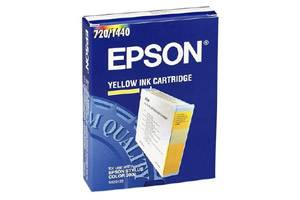 Epson S020122 OEM Genuine Yellow Ink Cartridge for Stylus 3000 5000