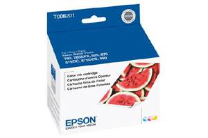Epson T008201 OEM Genuine Multi-Color Ink Cartridge