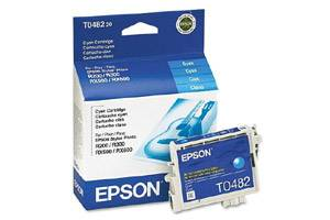 Epson T048220 Cyan OEM Genuine Ink Cartridge for R200 R300 R320 RX500