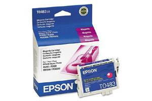 Epson T048320 Magenta OEM Genuine Ink Cartridge for R200 R300 R320