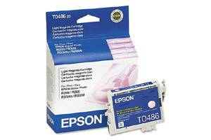 Epson T048620 Light Magenta OEM Genuine Ink Cartridge R200 R300 R320