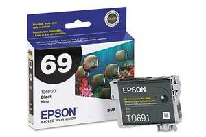 Epson T069120 #69 OEM Genuine Black Ink Cartridge