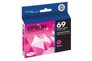 Epson T069320 #69 OEM Genuine Magenta Ink Cartridge