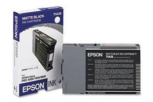 Epson T543800 OEM Genuine 110ml Matte Black Ink Cartridge Stylus 4000