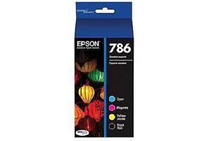 Epson T786120-BCS [OEM] Genuine Black & Color Ink Cartridge Multipack