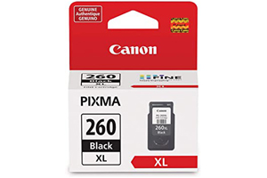 Canon PG-260XL Pigment Black Original Ink Cartridge for TS5320