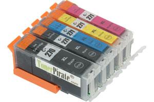 Canon PGI-270XL/CLI-271XL 5-Pack Hi-Yield Compatible Ink Cartridge Set