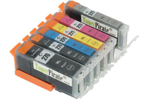 Canon PGI-270XL/CLI-271XL 6-Pack Hi-Yield Compatible Ink Cartridge Set
