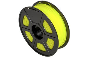 ABS Yellow Filament 1.75mm 1kg Supply Spool for 3D Printer