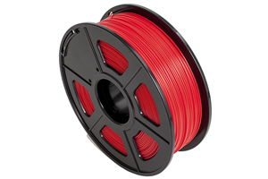 PLA Red Filament 1.75mm 1kg Supply Spool for 3D Printer