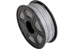 PLA Silver Filament 1.75mm 1kg Supply Spool for 3D Printer