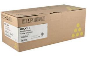 Ricoh 406044 Yellow Original Toner Cartridge for Aficio SPC220N