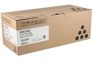 Ricoh 406046 Black Original Toner Cartridge for Aficio SPC220N