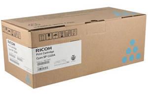 Ricoh 406047 Cyan Original Toner Cartridge for Aficio SPC220N