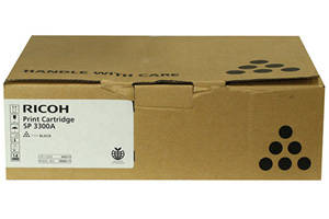 Ricoh 406212 Original Toner Cartridge Aficio SP3300D SP3300DN