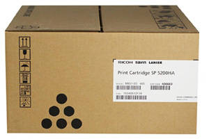 Ricoh 406683 (SP5200HA) OEM Genuine Black Toner Cartridge SP5200DN