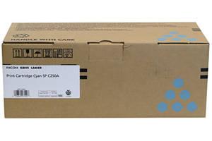 Ricoh 407540 Cyan [OEM] Genuine Toner Cartridge for SPC250 SPC261DNw