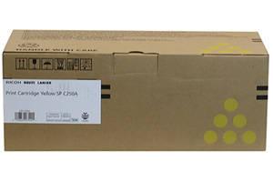 Ricoh 407542 Yellow [OEM] Genuine Toner Cartridge for SPC250 SPC261DNw