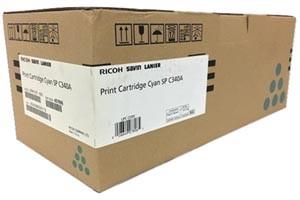 Ricoh 407896 Cyan Original Toner Cartridge for SPC340DN printers