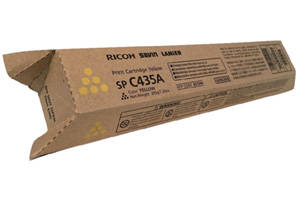 Ricoh 821244 Yellow Original Toner Cartridge for SPC435DN