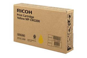 Ricoh 841723 Yellow [OEM] Genuine Ink Cartridge for Aficio MPCW2200SP