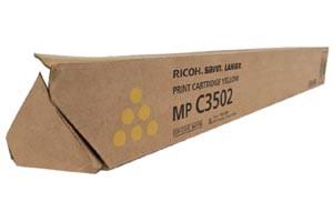 Ricoh 841736 Yellow Original Toner Cartridge Aficio MPC3002 C3502