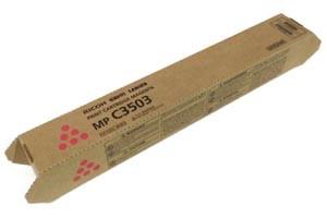 Ricoh 841815 Magenta Original Toner Cartridge MPC3003 MPC3503