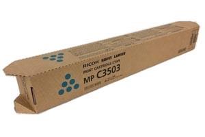 Ricoh 841816 Cyan Original Toner Cartridge MPC3003 MPC3503