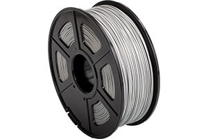 ABS Silver Filament 1.75mm 1kg Supply Spool for 3D Printer
