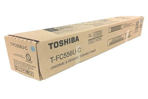 Toshiba T-FC556UC Cyan OEM Genuine Toner Cartridge for 5506AC