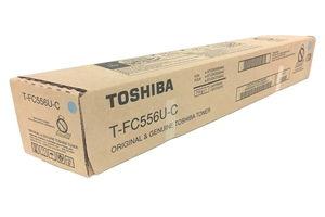 Toshiba T-FC556UC Cyan OEM Genuine Toner Cartridge for 5506AC